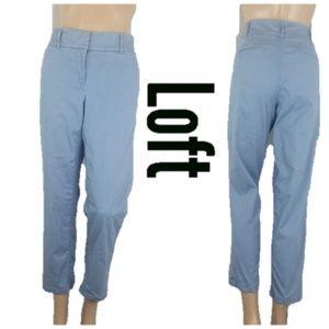 Ann Taylor Loft Marisa Lavender Skinny Pants